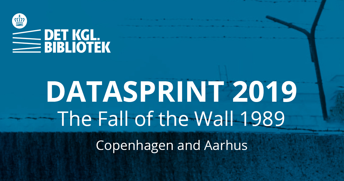 Datasprint: The Fall of the Wall 1989, Aarhus and Copenhagen