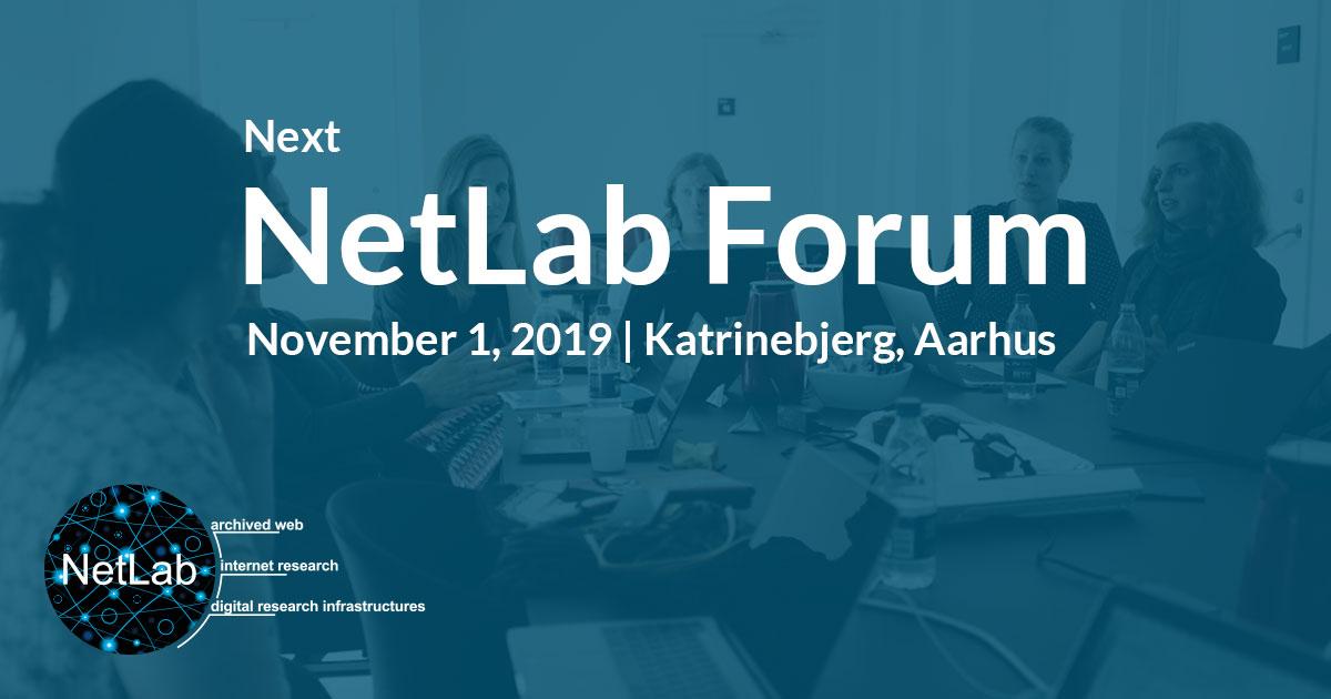 NetLab Forum, November 1 2019, Aarhus