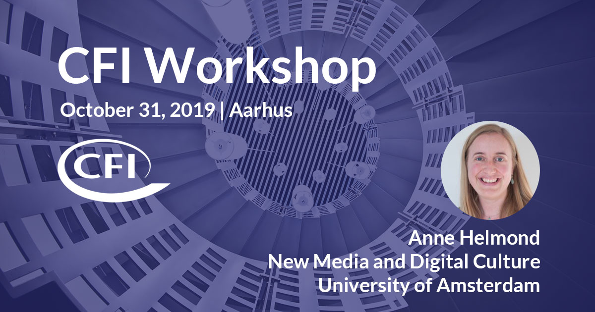 Centre for Internet Studies Workshop on platform historiography, October 31, Aarhus