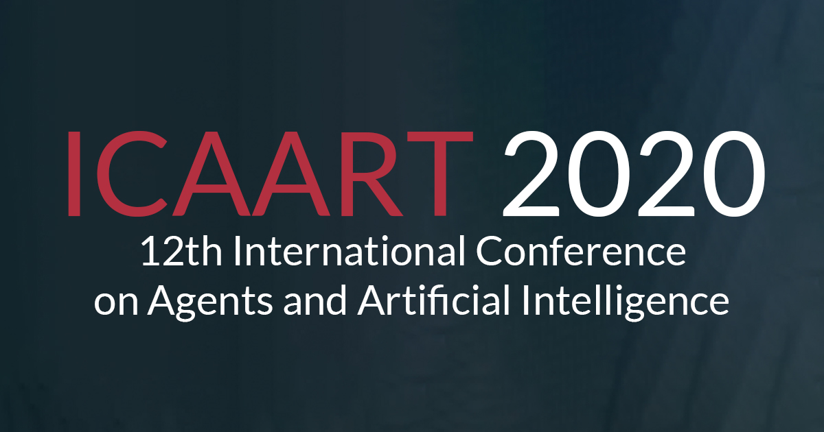 February Events 2020.Icaart 2020 12th International Conference On Agents And