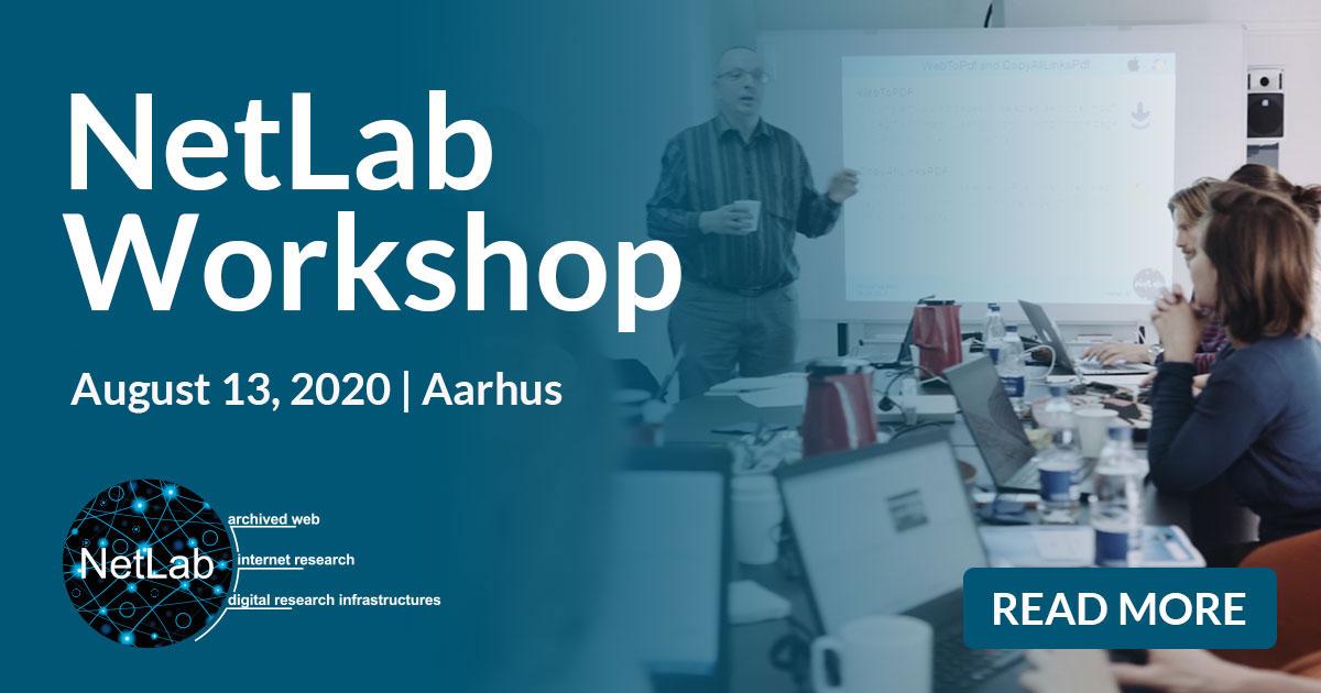 NetLab Workshop, August 13 2020, Aarhus
