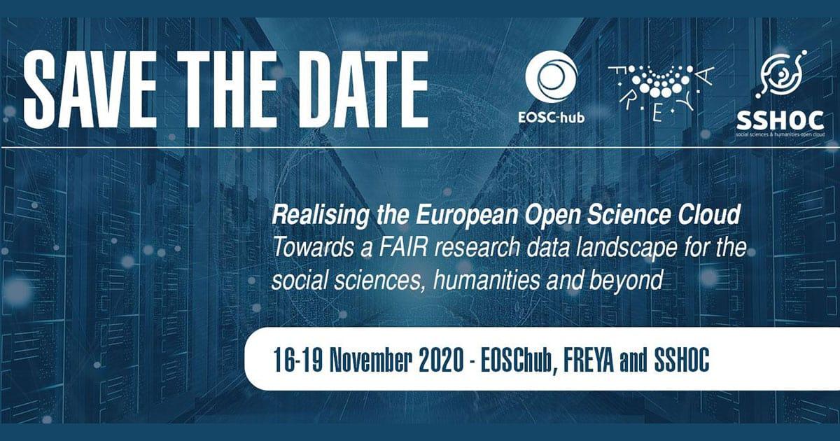Realising the European Open Science Cloud, November 16-19 2020, Online