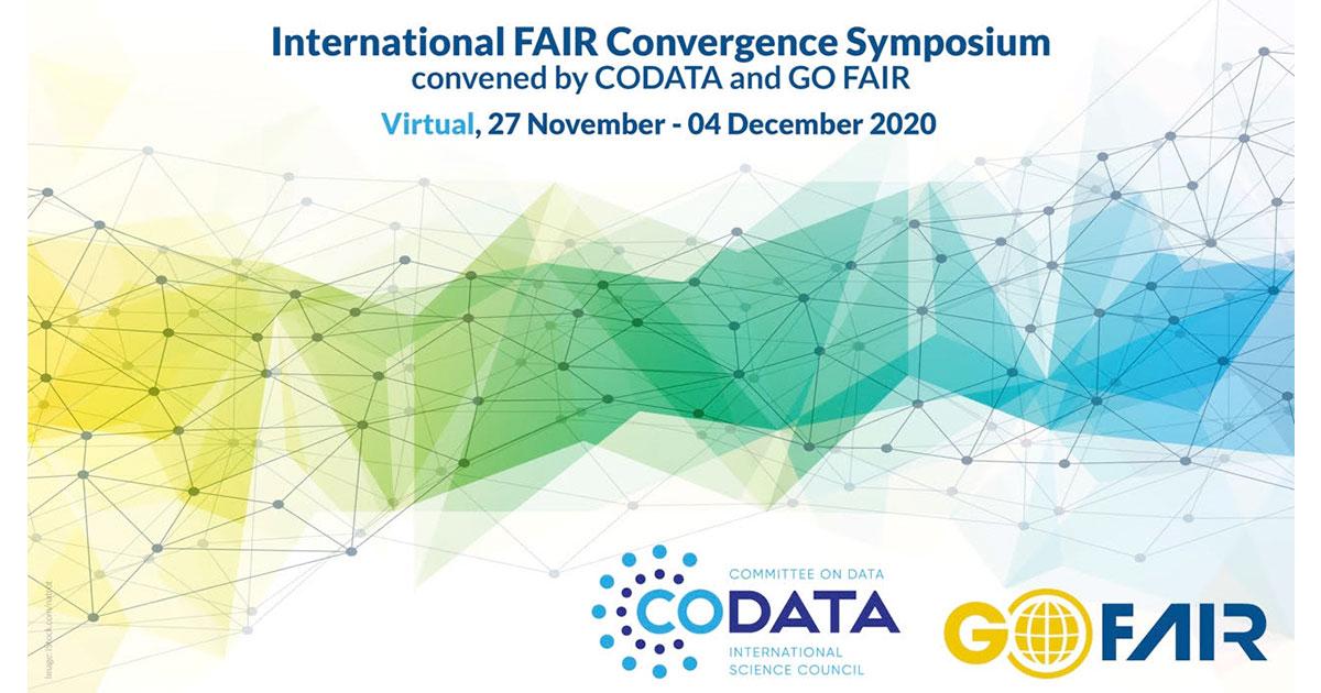 International FAIR Convergence Symposium, November 27-December 4 2020, virtual