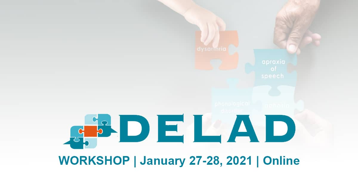 DELAD Workshop 2021, 27-28 January 2021, virtual