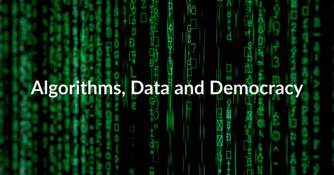 Launch Conference: Algorithms, Data and Democracy (DANISH), April 9, virtual