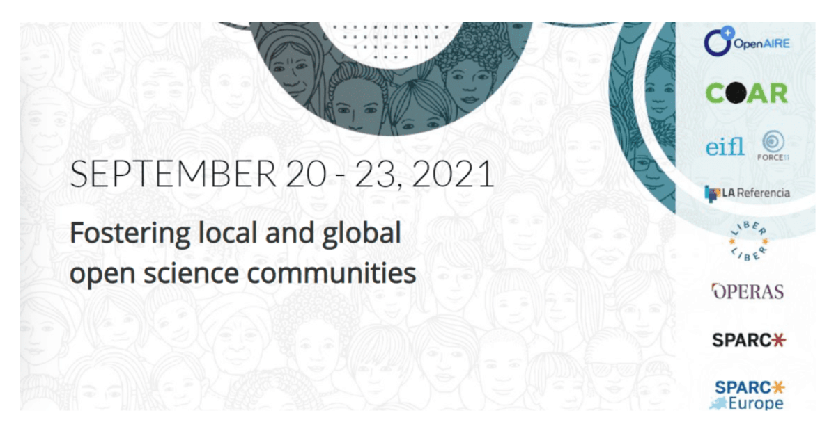 The 3rd Open Science Fair Conference: Fostering Local and Global Open Science Communities, September 20-23 2021